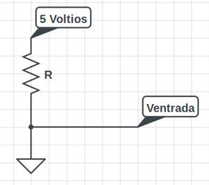 Ejemplo de resistencia y amplificador operacional
