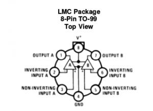 LM358N LMC Package