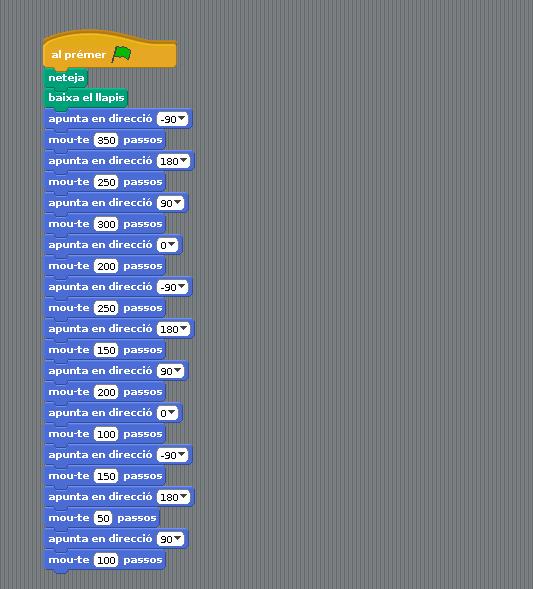 código laberinto scratch