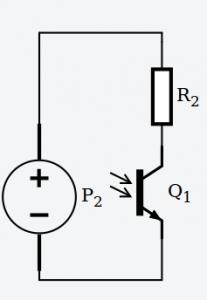Cómo conectar un fototransistor