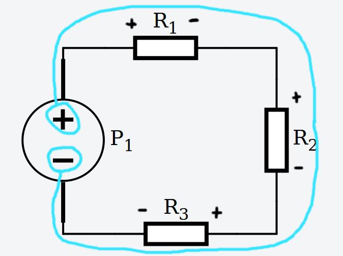 kirchhoff voltaje