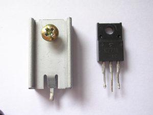 Disipador de temperatura para elementos electrónicos