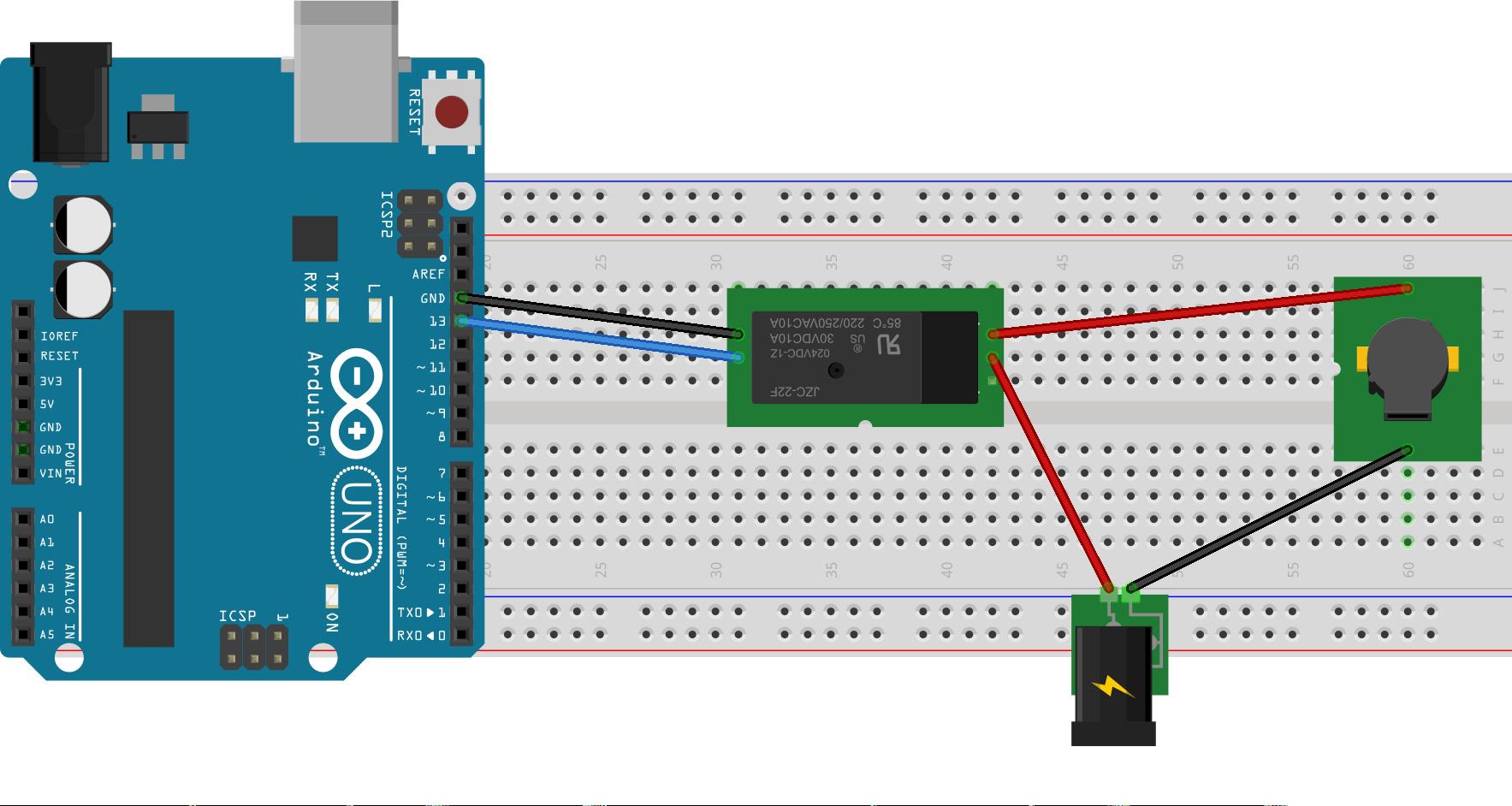 Ejemplo de uso de relés con Arduino